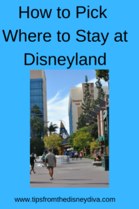 How to Pick Where to Stay at Disneyland