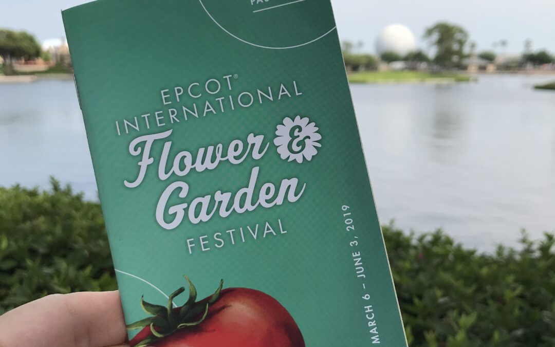 It's Back!  Taste of Epcot International Flower & Garden Festival