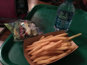 Gluten-Free French Fries, Walt Disney World