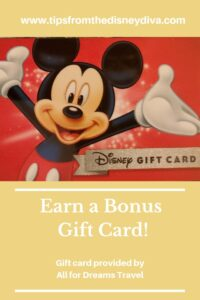 Earn a Bonus Gift Card - Book Your Walt Disney World Vacation Today!