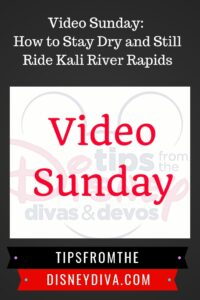 Video Sunday: How to Stay Dry and Still Ride Kali River Rapids