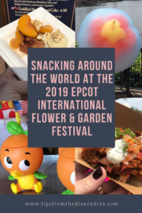 Snacking Around the World at 2019 Epcot International Flower & Garden Festival