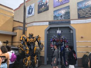 Transformers at Universal Studios Hollywood
