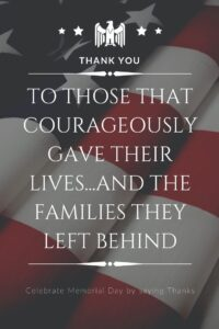 Celebrate Memorial Day-Join Disney, Shades of Green and others by honoring the Families of Fallen Soldiers.