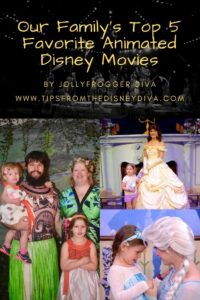 Our Family's Top 5 Favorite Animated Disney Movies