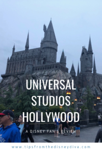 Universal Studios Hollywood - A Disney Fan's Review