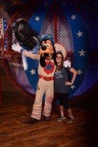 Meeting Goofy
