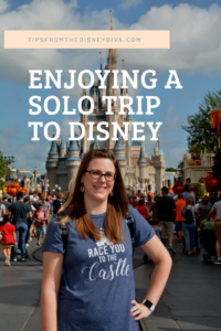 Enjoying a Solo Trip to Disney