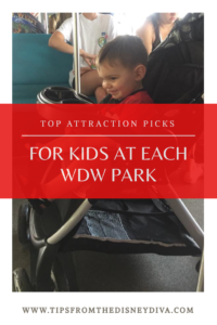 Top Attractions for Kids at WDW
