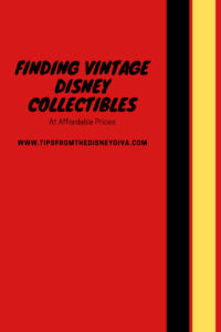Finding Vintage Disney Collectible Glassware at Affordable Prices