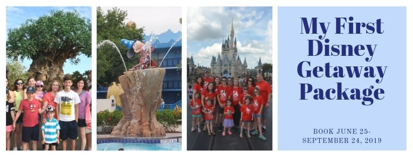 """My First Disney Getaway Package"" available today!"