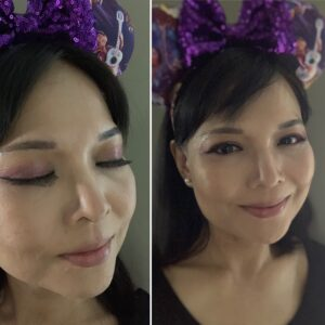 The Lion KIng Make Up Collection, Sir John, Disney Make Up, Purple, Mickey Ears