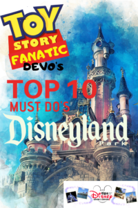 Toy Story Fanatic Devo's Top 10 Must Do Disneyland