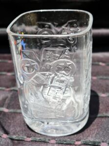 Walt Disney World Millennial Glass from McDonald's features scenes from Hollywood Studios