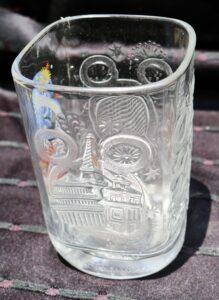 Walt Disney World's Epcot Millennial Glass from McDonald's