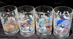 Walt Disney World Glasses from McDonald's collection
