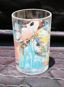 Walt Disney World's Share a Dream Come True Magic Kingdom glass from McDonald's