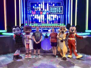 Characters at Hollywood Studios Disney Junior Dance Party!