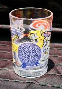 Walt Disney World's Share a Dream Come True Epcot glass from McDonald's