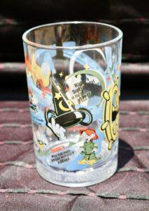 Walt Disney World's Share a Dream Come True Hollywood Studios glass from McDonald's
