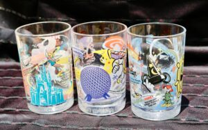 Walt Disney World's Share a Dream Come True 100 Years of Magic glass set (not complete) from McDonald's
