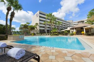 DoubleTree Suites by Hilton - Orlando Lake Buena Vista -- pool -- Disney Springs Resort Area Hotels