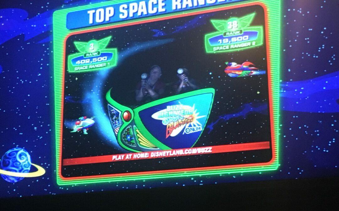 Tips for Disneyland's Buzz Lightyear Astro Blasters