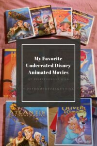 My Favorite Underrate Disney Animated Movies