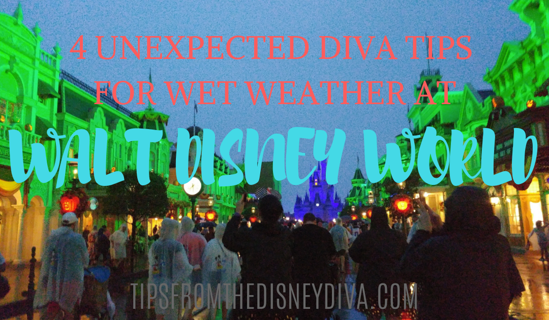 4 Unexpected Diva Tips for Wet Weather at Walt Disney World