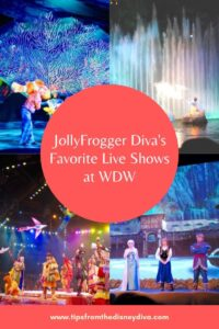 JollyFrogger Diva's Favorite Live Shows at WDW