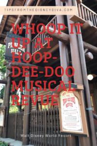 Whoop It Up at Disney's Hoop-Dee-Doo Musical Revue