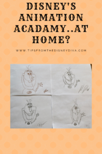 Disney's Animation Academy..At Home?