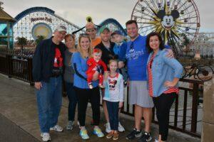 Disney Magic Diva family at DCA