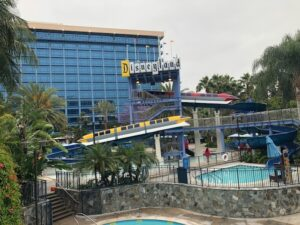 Disneyland Hotel Monorail Slides