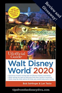 The Unofficial Guide Walt Disney World 2020 - Review and Giveaway