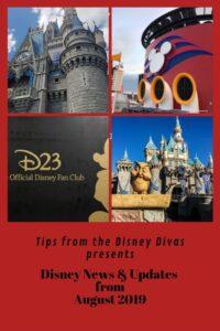 Disney News & Updates from August 2019