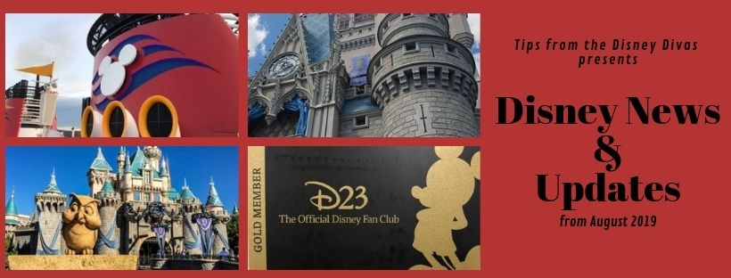 Disney Travel News & Updates, Highlights from August 2019