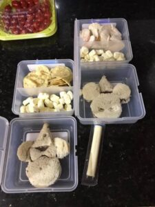 Easy DIY Disney Themed School Lunches