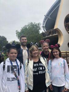 Cousins at Disneyland