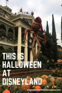 This is Halloween at Disneyland