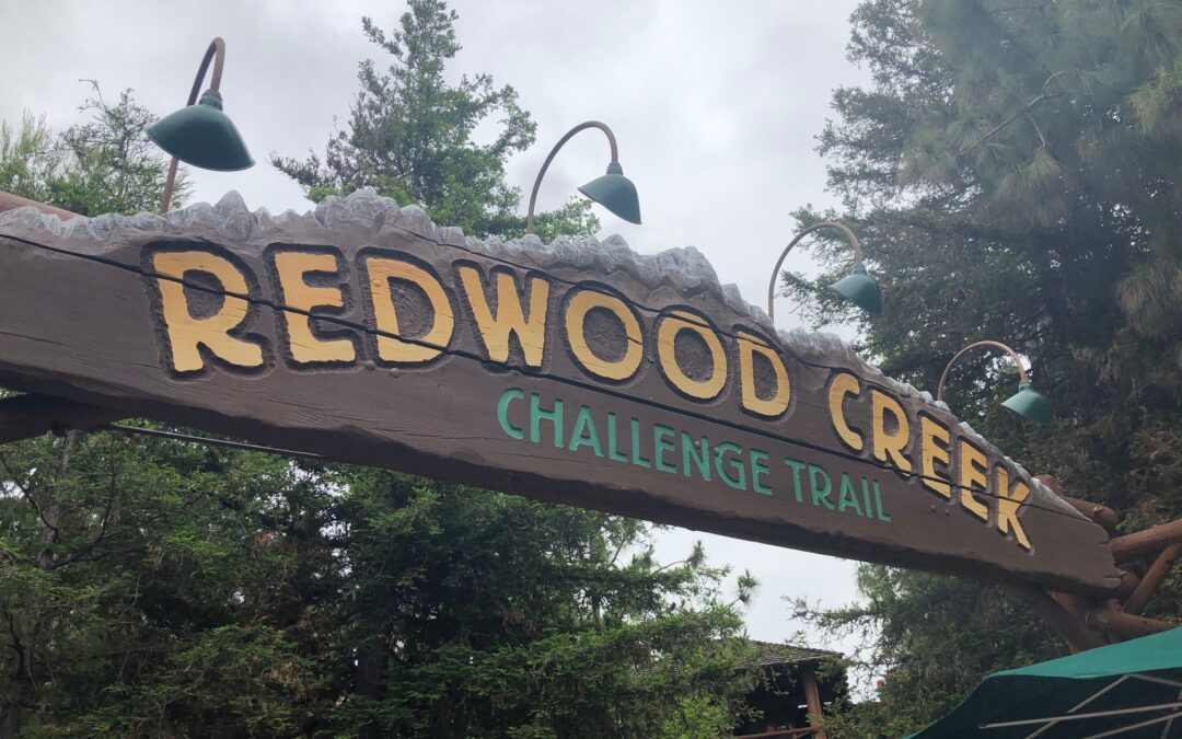 Gems of Disney California Adventure Park – Redwood Creek Challenge Trail