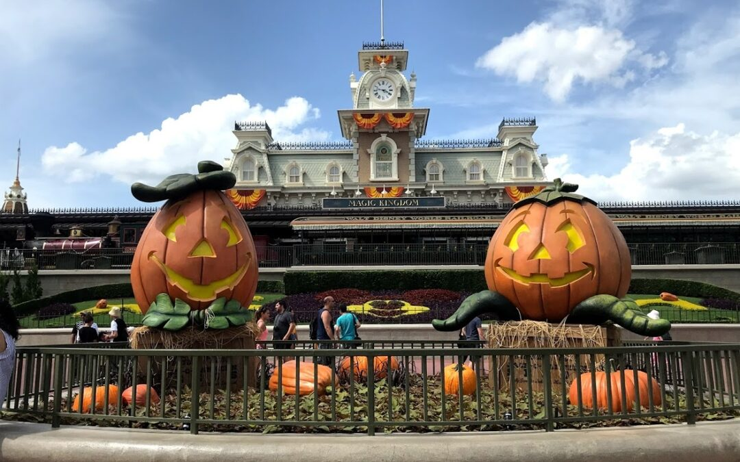 Halloween Decorations at Magic Kingdom