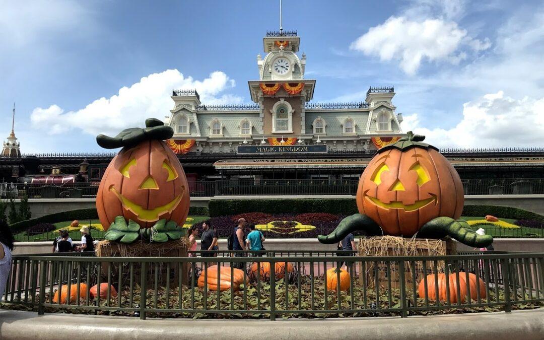 Halloween Decorations at Magic Kingdom