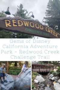 Gems of Disney California Adventure Park - Redwood Creek Challenge Trail