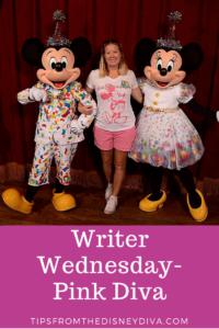 Writer Wednesday-Pink Diva