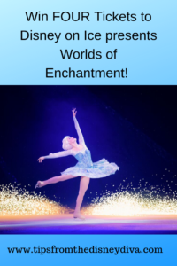 Win FOUR Tickets to Disney on Ice presents Worlds of Enchantment!