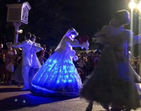 New additions in Mickey's Boo To You Parade
