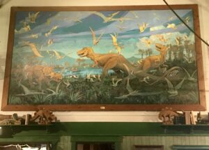 Lots of dinosaur theming at Animal Kingdom's Restaurantosaurus