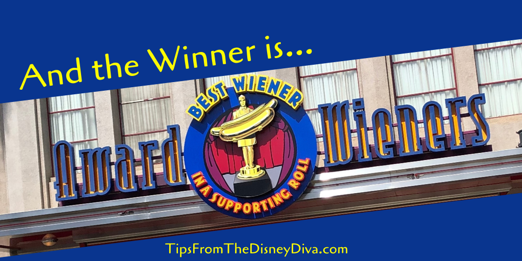 And the Winner is… Award Wieners!