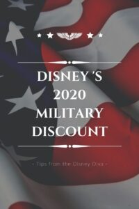 Disney's Military Discounts - Now Available for 2020 Dates of Travel!